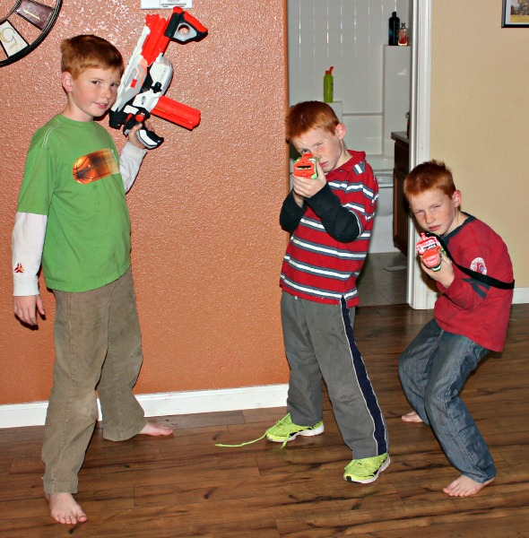 Nerf Gun Party: For kids who love a good game of Nerf guns, this