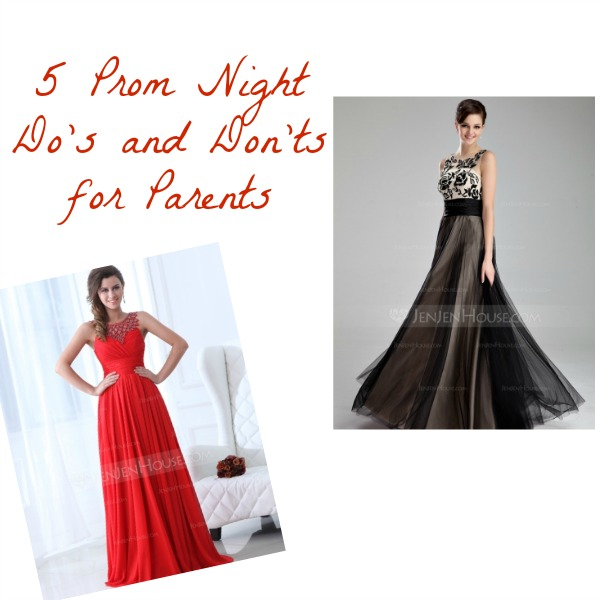 5 Prom Night Do's and Don'ts for Parents