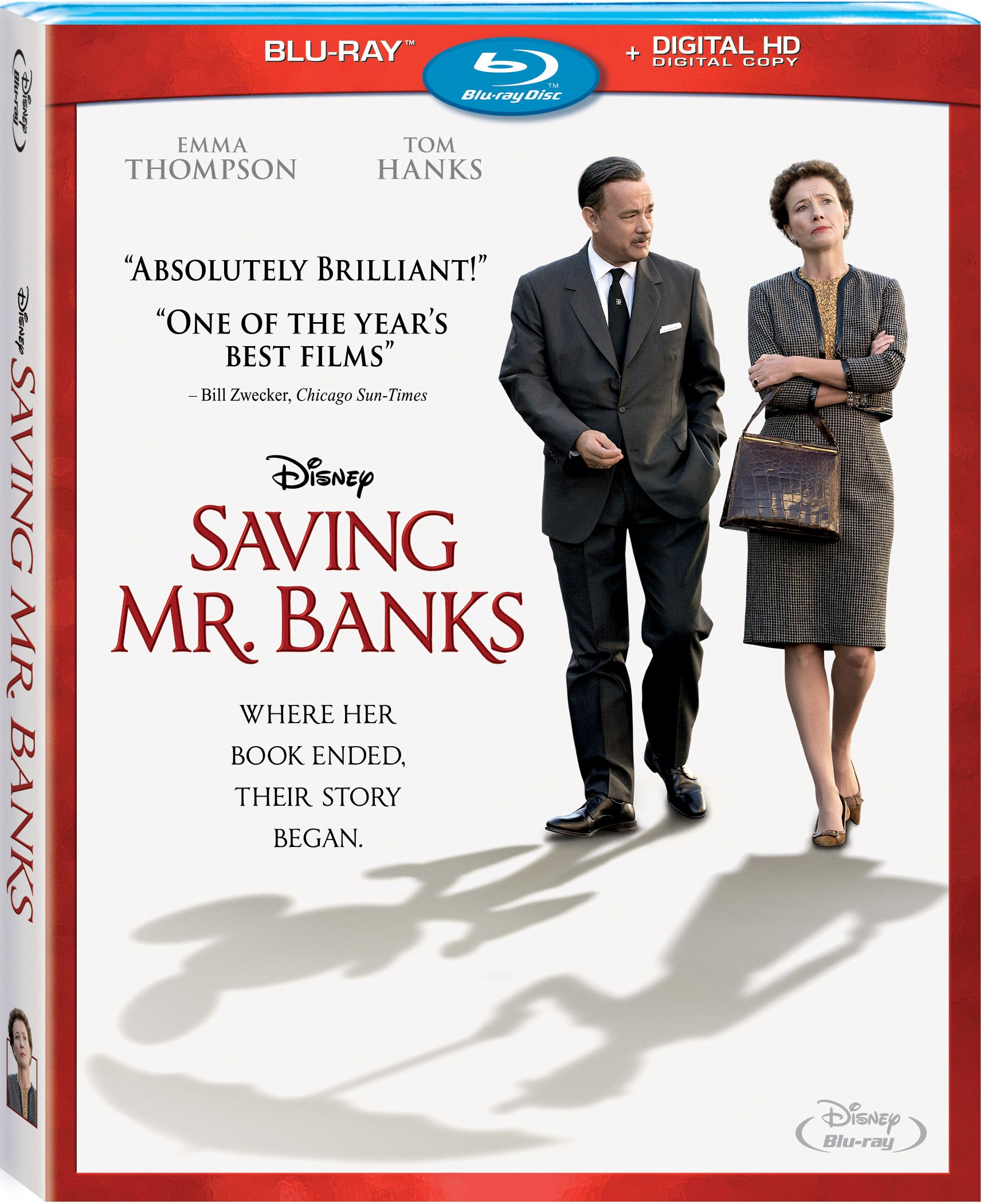 Saving Mr. Banks Comes to Blu-ray: Catch a Glimpse Into the Real Walt Disney