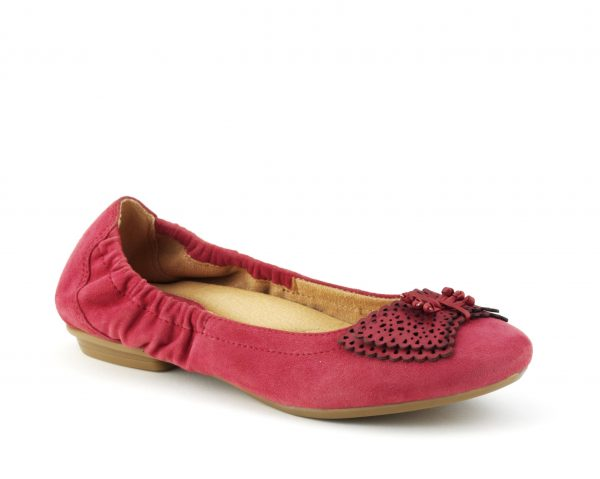 Butterfly Red Plum Earth Footwear Shoes