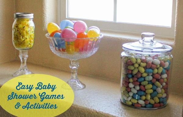Easy Baby Shower Games U0026 Activities
