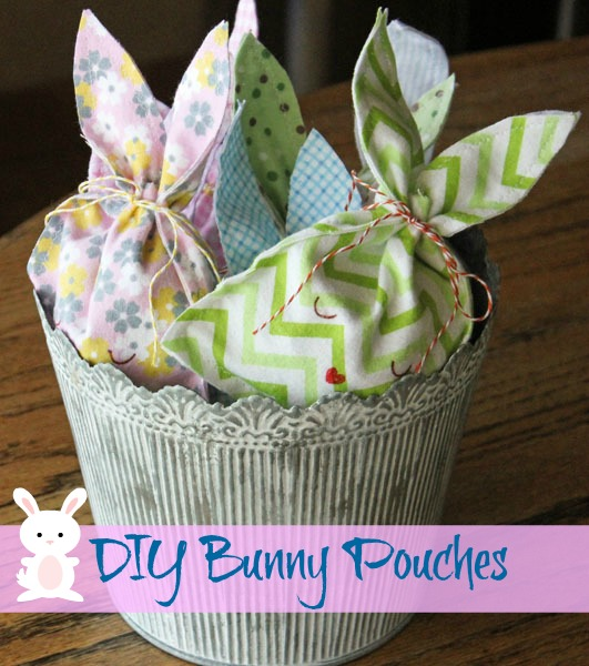 DIY Easter Bunny Candy Pouch
