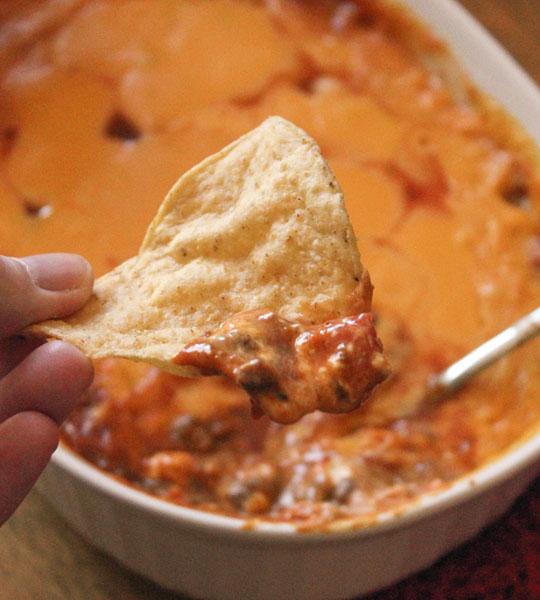 Chili Cheese Dip: Game Time Snacking with VELVEETA® and RO*TEL®
