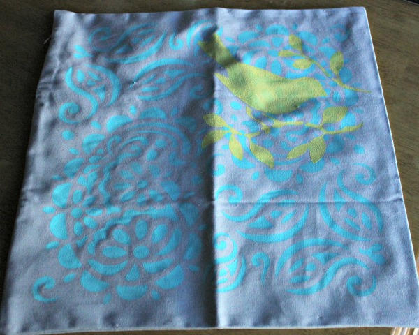 DIY Painted Pillowcase