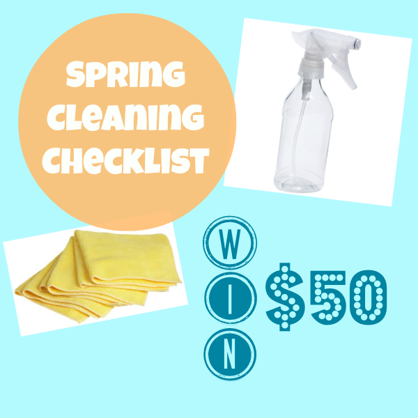 Spring Cleaning Checklist and $50 Filtrete Healthy Home Giveaway