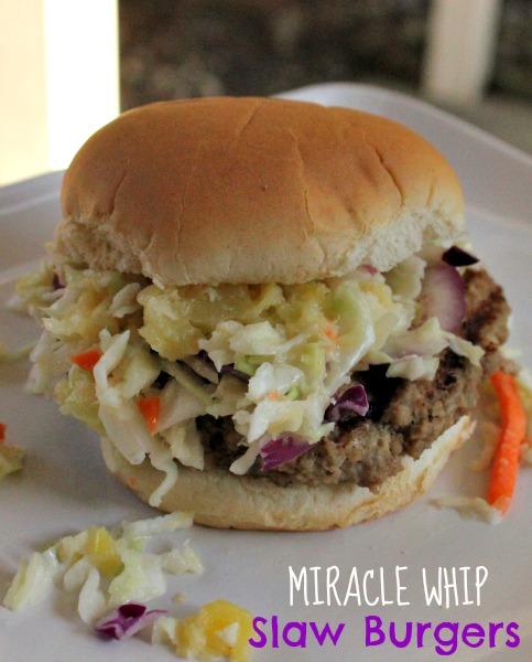 MIRACLE WHIP Slaw Burgers and Backyard BBQ Party TIps