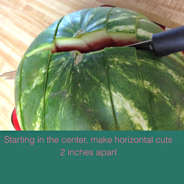 How to Cut Watermelon the EASY WAY!