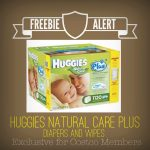 Free Huggies Natural Care Plus Diapers and Wipes