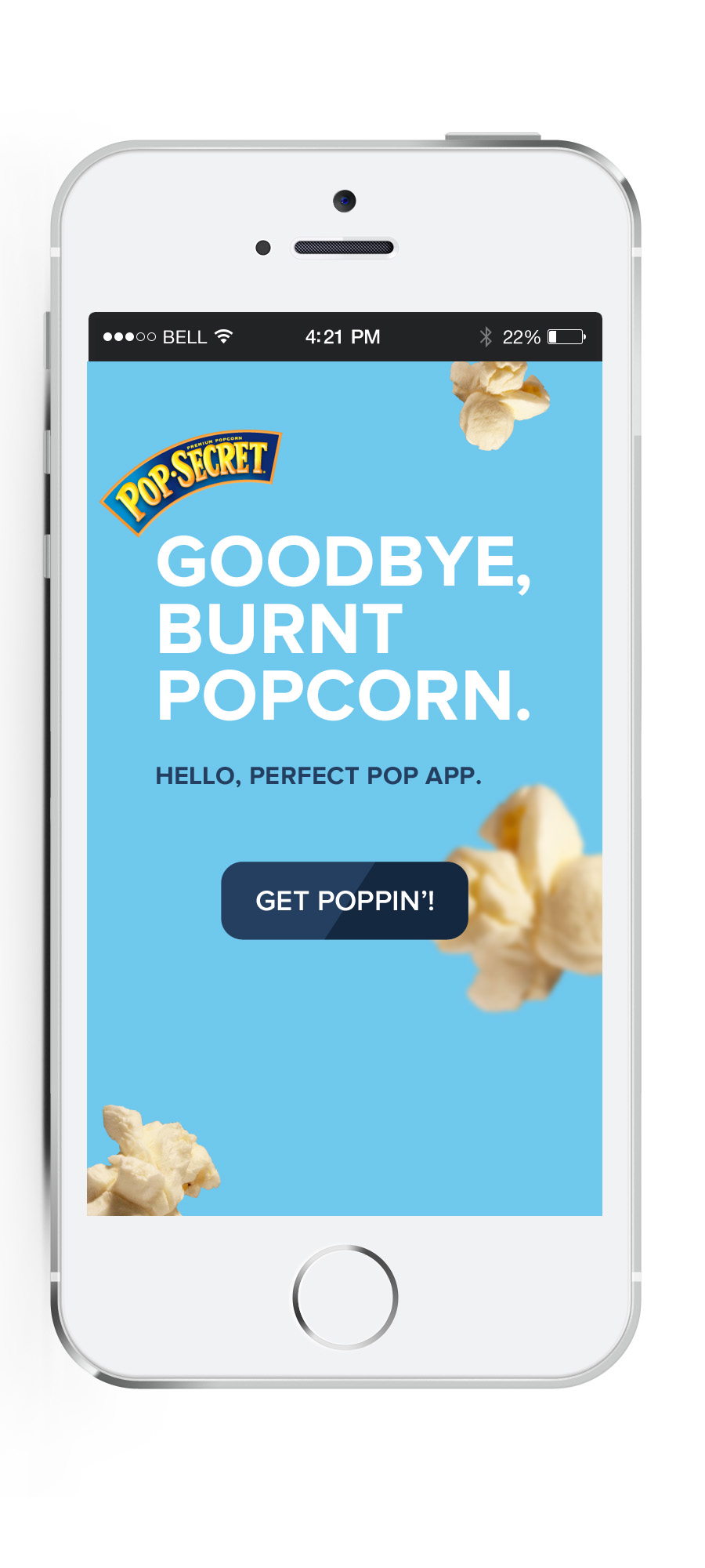 Escaping with a Movie and a Solution to Burned Popcorn