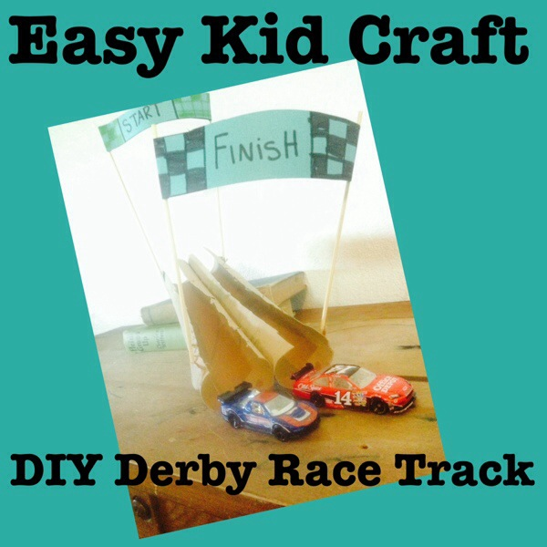 Easy Kids Craft: DIY Derby Track Inspired by The Boxtrolls and Special Sweepstakes