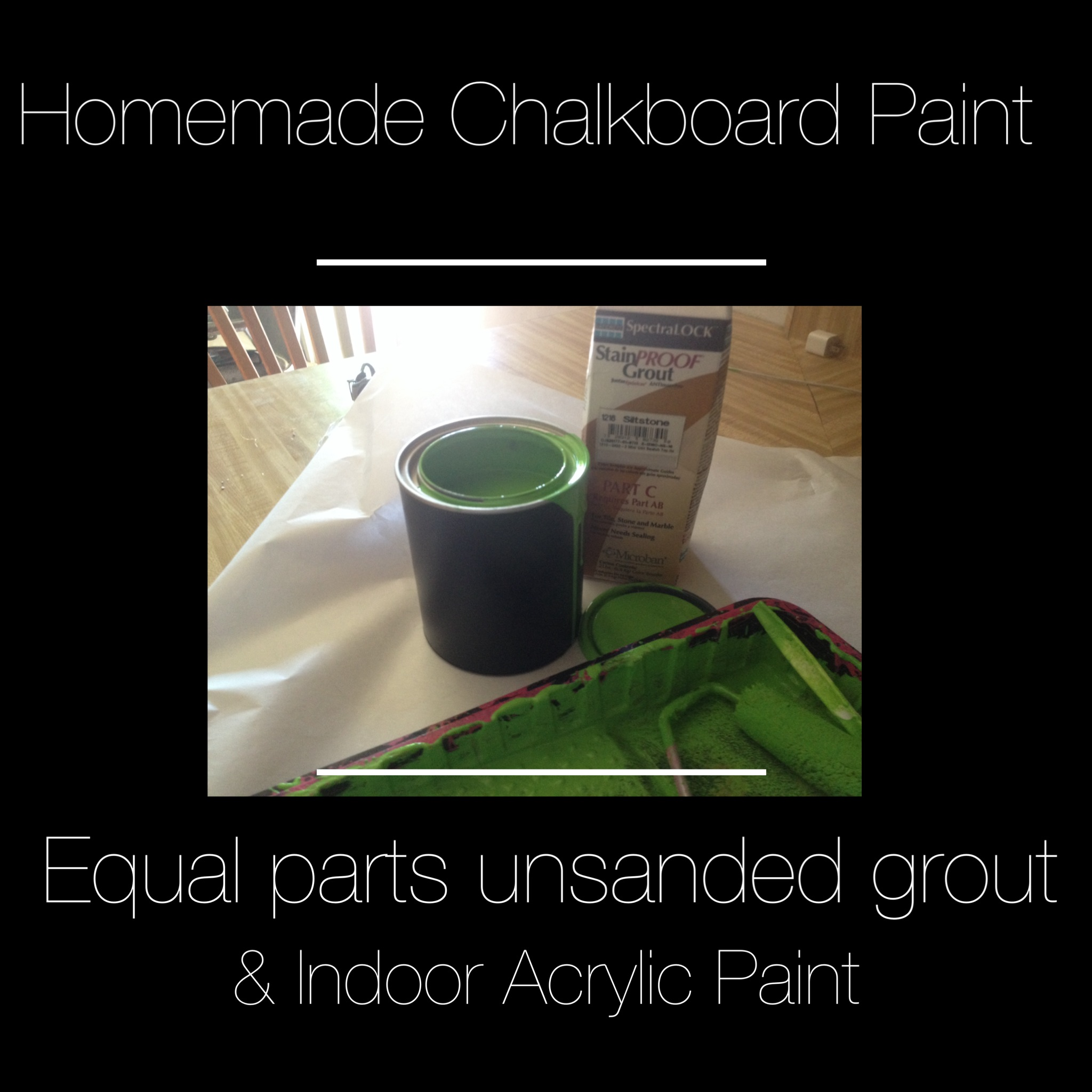 3 Secrets to Painting Built-in Furniture + Homemade Chalkboard Paint