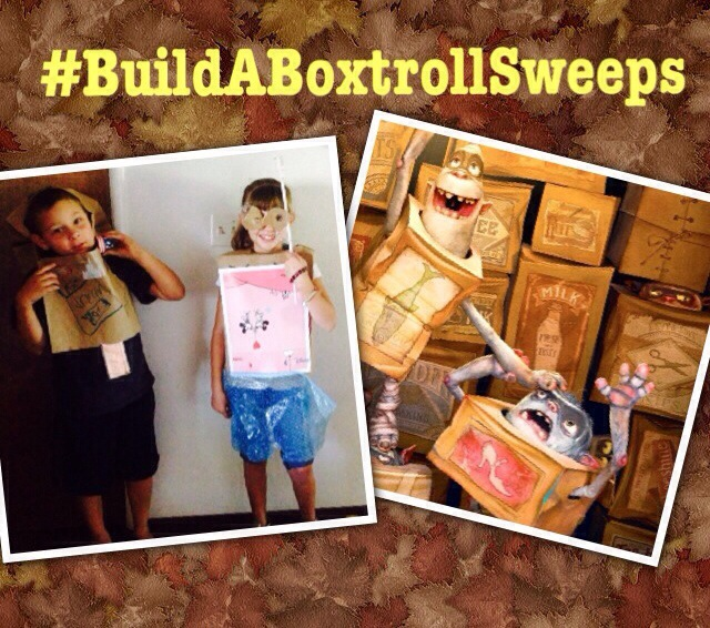 Building Friendship While Building Boxtrolls To Win a Trip for Four to LA