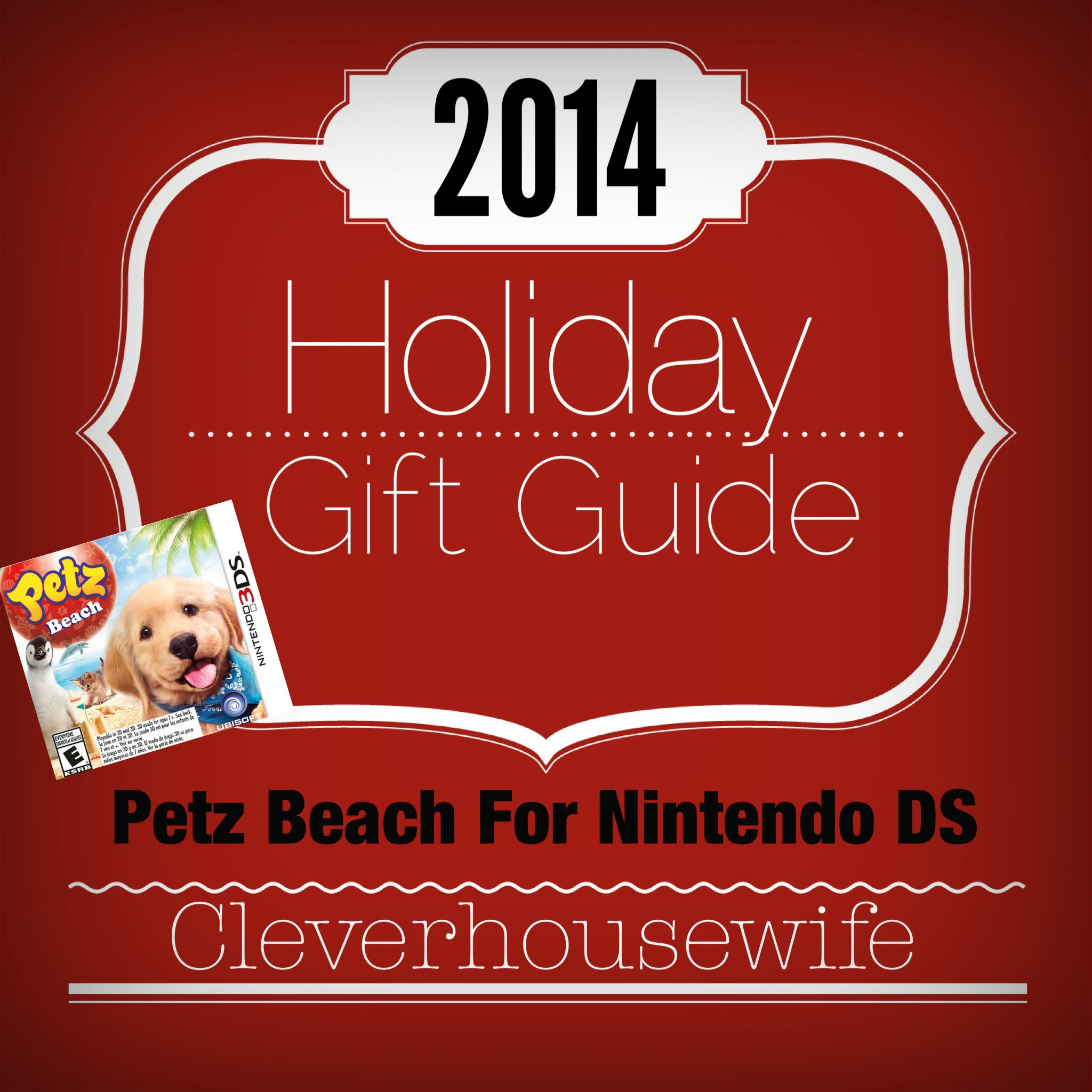 2014 Holiday Gift Guide: Petz Beach for Nintendo 3DS