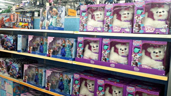 Walmart Toy Aisle Boys : This season s hottest dog get up and gogo my walkin pup