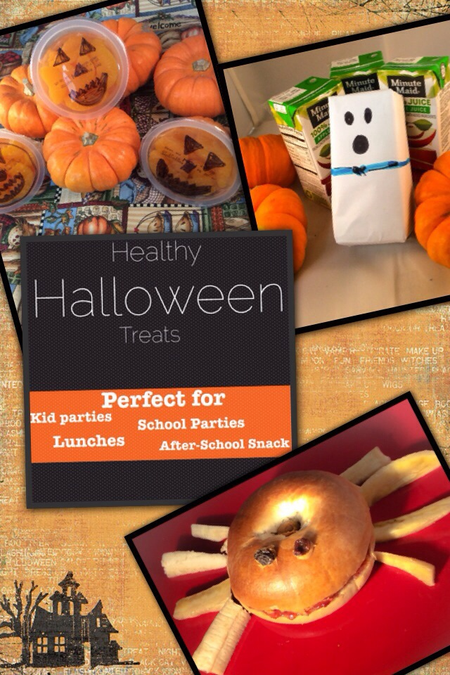 Halloween Party Series: Healthy Halloween Treats for Kid Parties,  Lunches, School Parties or After-School Snacks