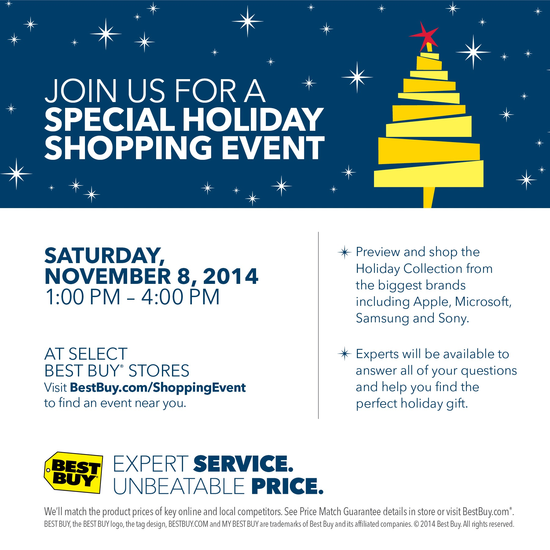 Shop for Your Tech-Lover at the Best Buy Holiday Preview Event This Saturday