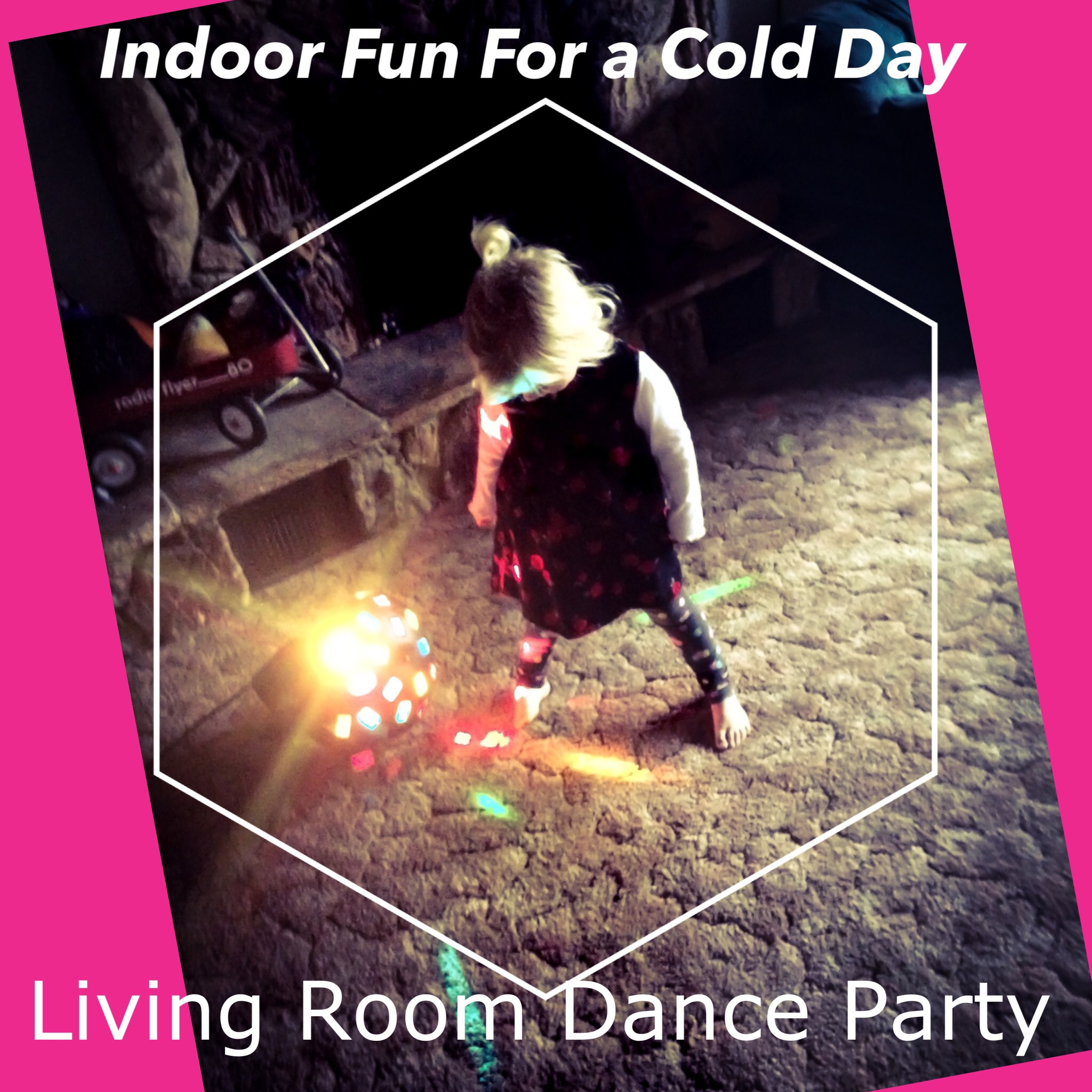 Indoor Fun For a Cold Day: Living Room Dance Party + Free Usher Download