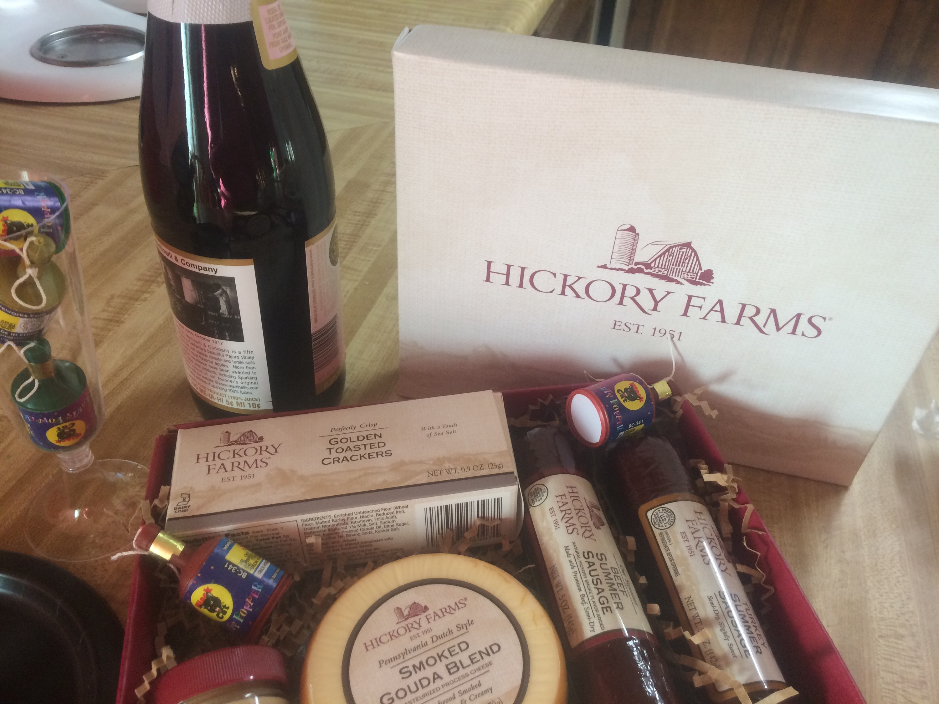 2014 Holiday Gift Guide: Be Classy This NYE, Give a Hostess Gift From Hickory Farms + Giveaway