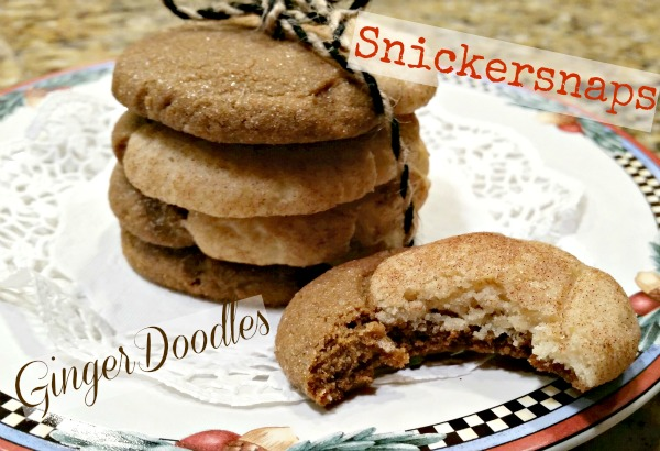 GingerDoodles or Snickersnaps - your call!