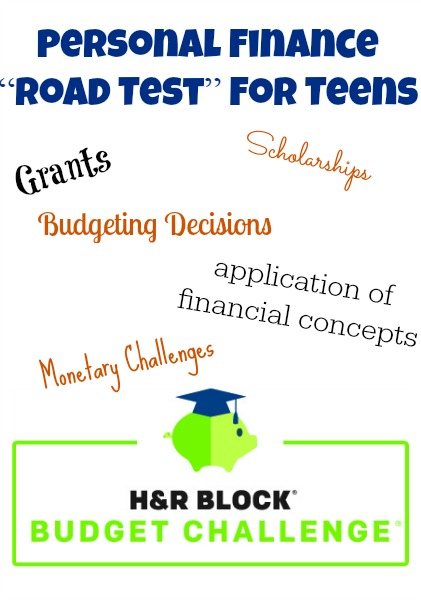 Enter Your Teen in the H&R Block Budget Challenge for Scholarships