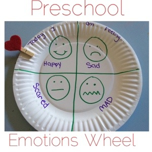 Emotion Wheel: Simple Craft to Help Preschoolers Show How They Are Feeling