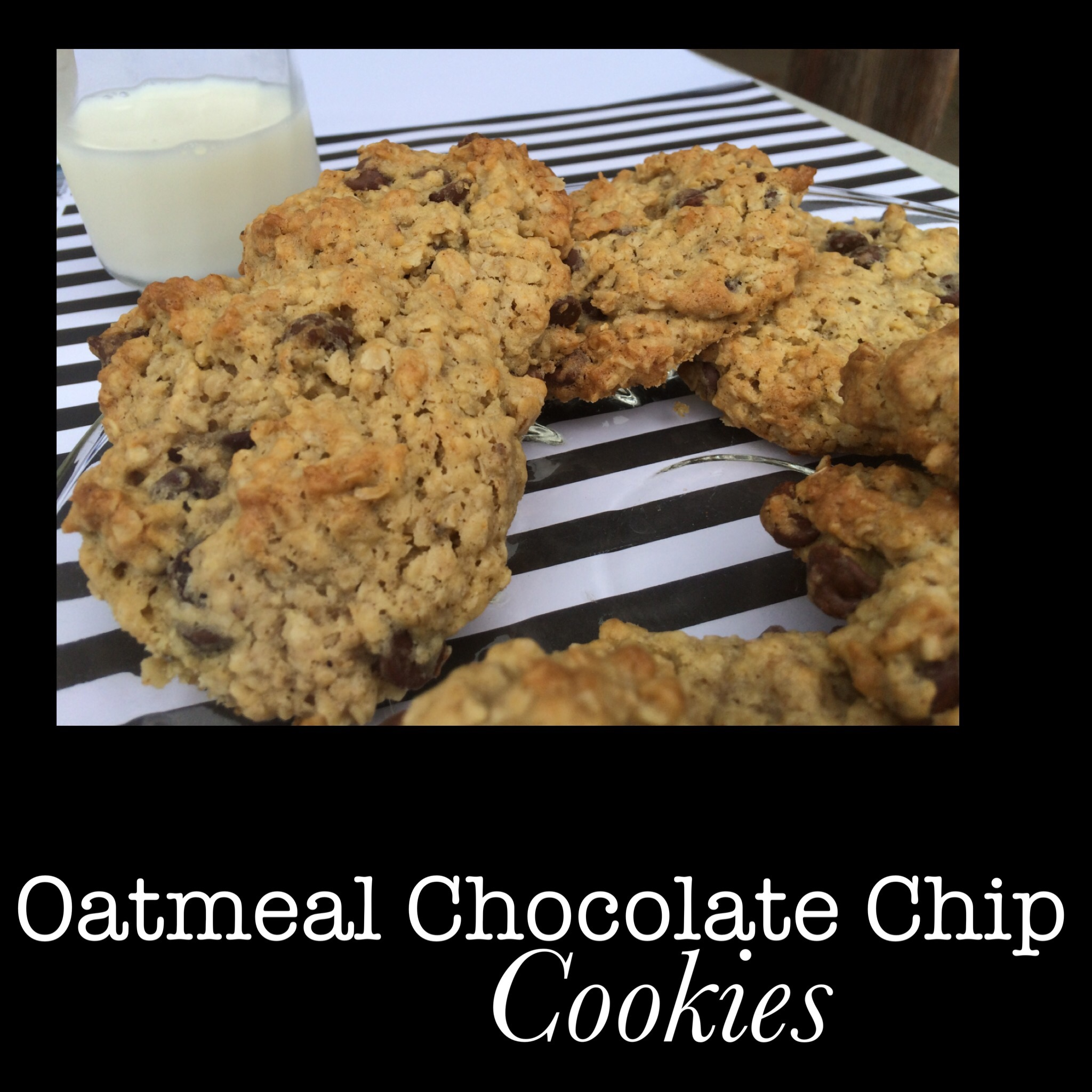 """""""You Won't Believe How Amazing"""" Oatmeal Chocolate Chip Cookie Recipe"""
