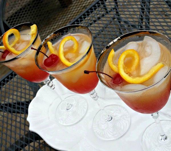 Malibu Mango Mocktail Close-Up