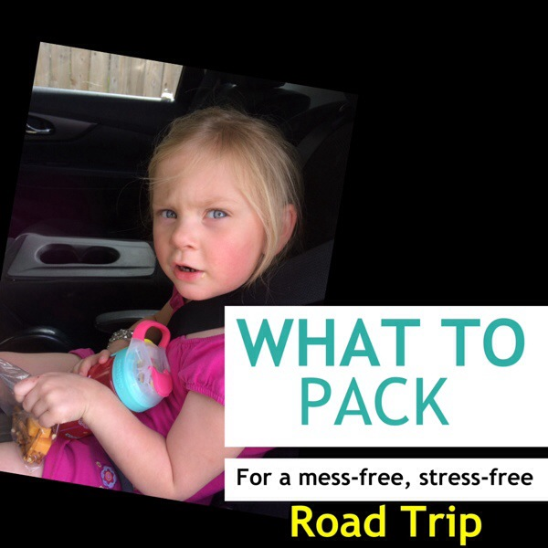 What To Pack For a Mess-Free, Stress-Free Road Trip with Kids + Giveaway