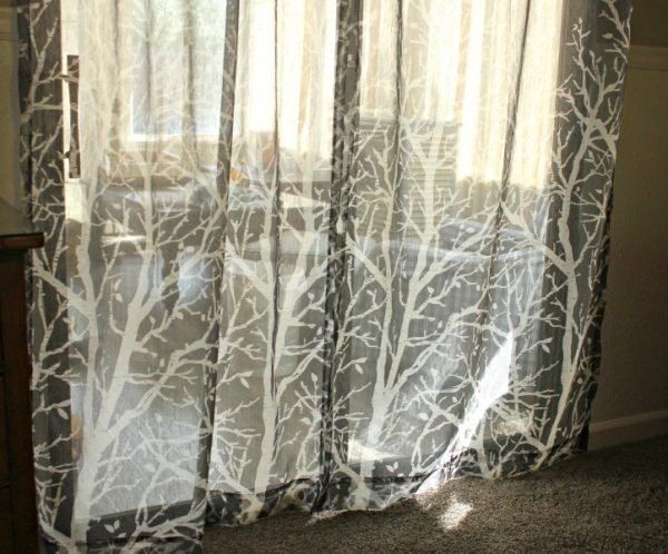 Greige Curtain Panels