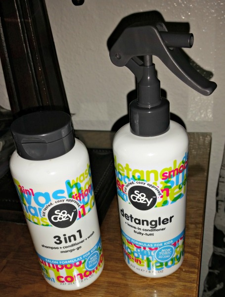 Battling tangles with socozy salon quality hair products for Salon quality shampoo