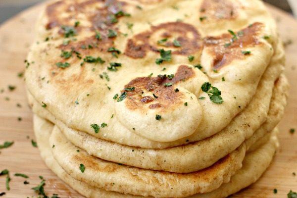 An easy recipe for homemade Naan Bread so you can get to making your ...