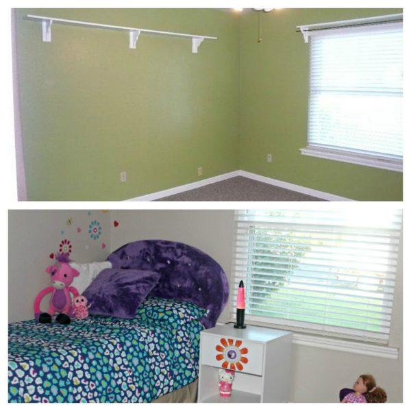 Affordable Kids Furniture and Decor Bedroom Makeover