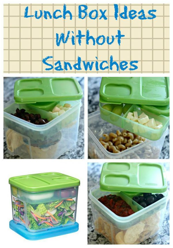 Lunch Box Ideas Without Sandwiches