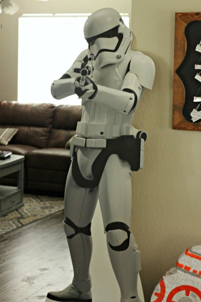 6 ft tall Storm Trooper from Birthday Express