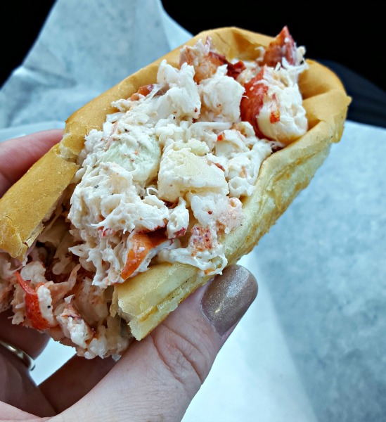 Maine Lobster Roll from Libby's Market