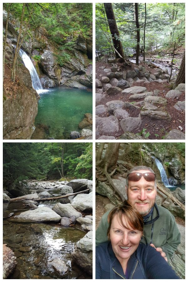 Bingham Falls Hike in Stowe, VT