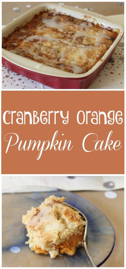 Cranberry Orange Pumpkin Cake