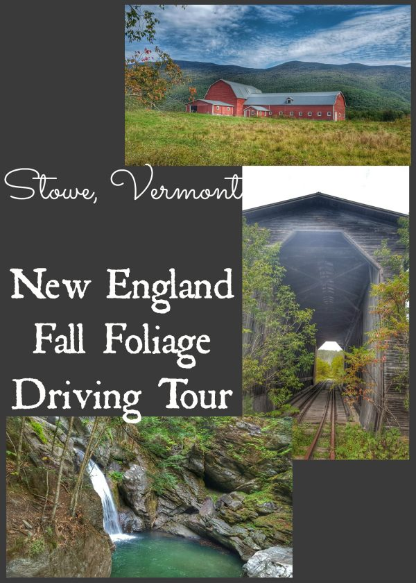 New England Fall Foliage Driving Tour Day 3 Stowe, Vermont and Area