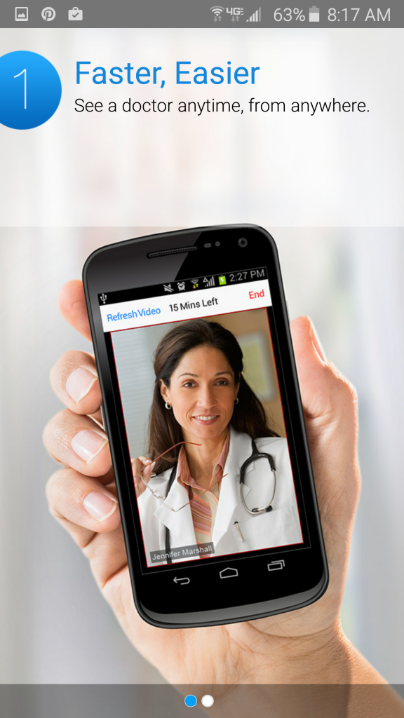 Amwell Online Doctor Visits