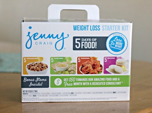 Jenny Craig 5 Day Weight Loss Starter Kit at Walmart