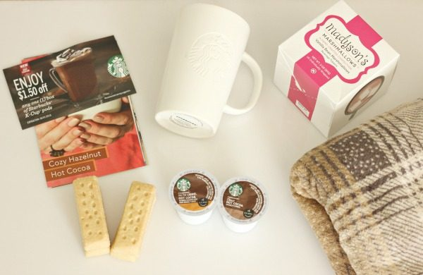 Getting Cozy with Starbucks Hot Cocoa K-Cup Pods and the Starbucks Cozy Collection