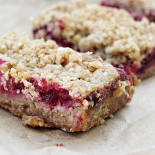 Plum Breakfast Bars