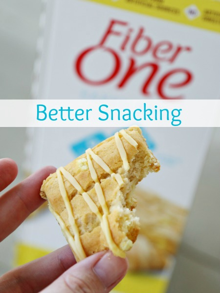 Better Snacking with Fiber One Lemon Bars