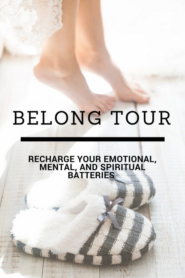 Recharge Emotional, Mental, and Spiritual Batteries at the BELONG Tour