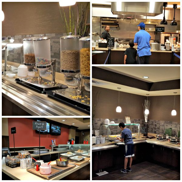 Embassy Suites Breakfast Buffet