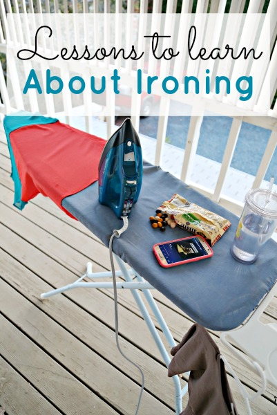 Lessons to Learn About Ironing