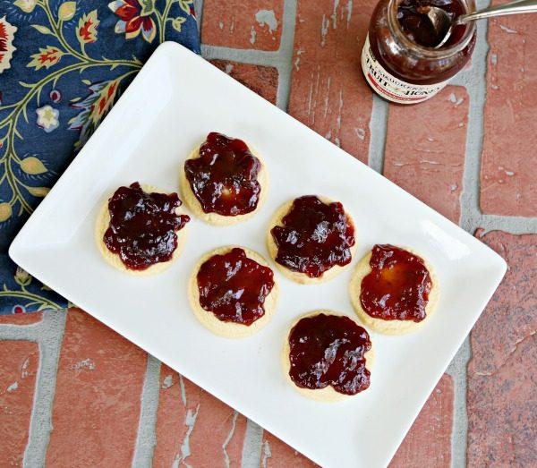 Fruit + Honey Shortbread Squares