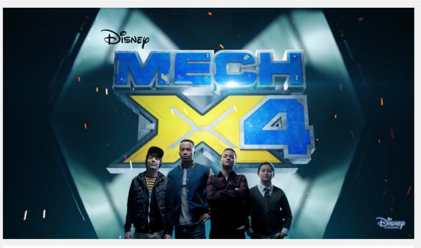 Chatting with the cast of the Live-Action Sci-Fi Adventure with Disney Channel MECH-X4