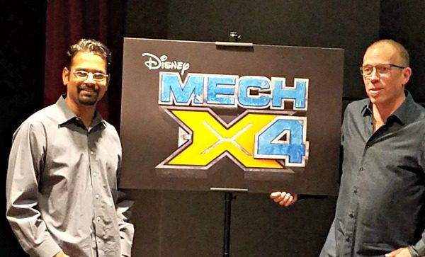 Chatting with the producers of Live-Action Sci-Fi Adventure with Disney Channel MECH-X4