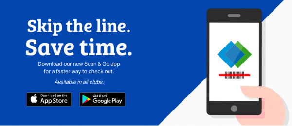 Save Time Shopping with Scan & Go App at Sam's Club